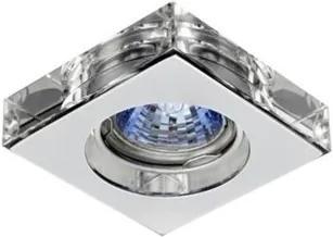 Plafon Embutir Alumínio Cromado
