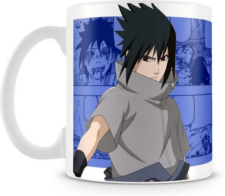 Caneca Personalizada Naruto Shippuden Mod.3 (Sasuke)