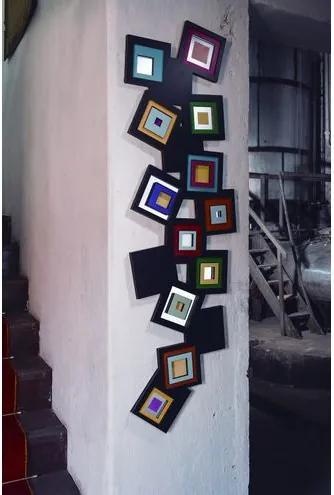 Adorno Celinne Sofisticado em MDF Pintado - 17875 Sun House