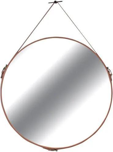 Espelho Silverstone Couro Terracota 60 cm (LARG) - 35733 Sun House