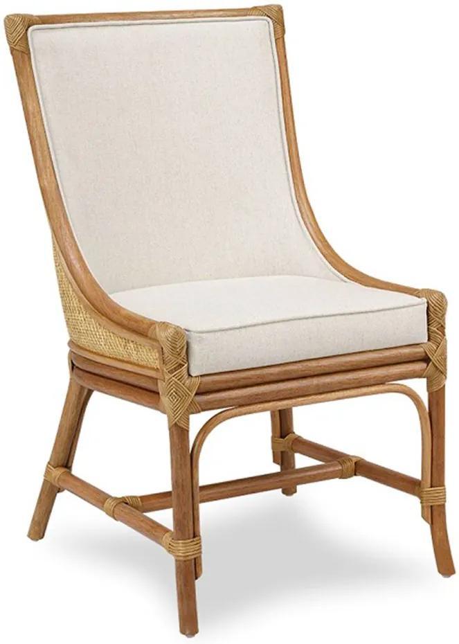 Cadeira Victoria em Madeira Apuí C/Fibra Rattan
