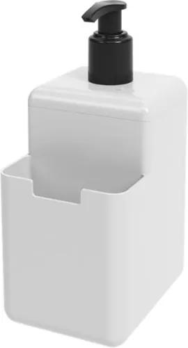 Dispenser Single 500ml 8x10,5x18,2cm Branco - 17008/0007 - Coza - Coza