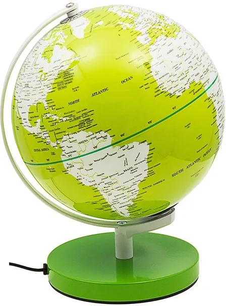 Globo Iluminado Color Verde