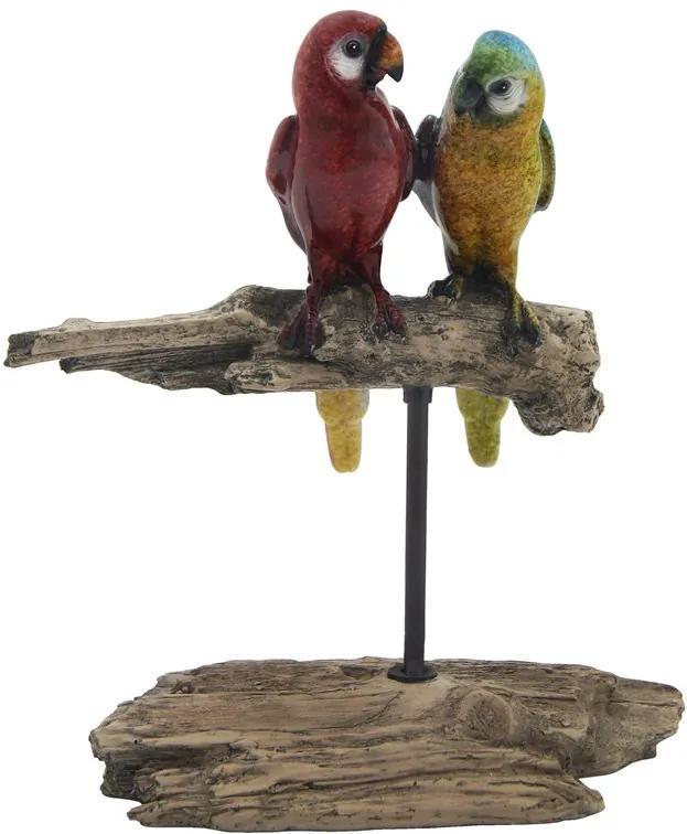 Escultura De Pássaro Em Resina Bagdá