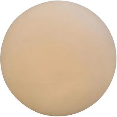 Luminária De Piso Branco Soleil 60Xø60