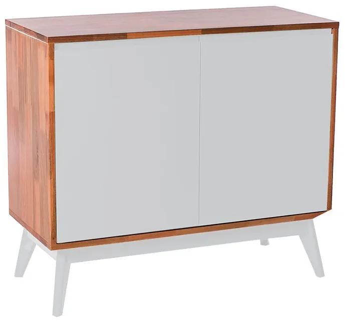 Buffet Roma 2 Portas Branco - Wood Prime MP 1041596