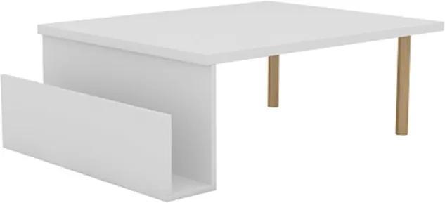 Mesa de Centro Olívia New Branco - Mobix