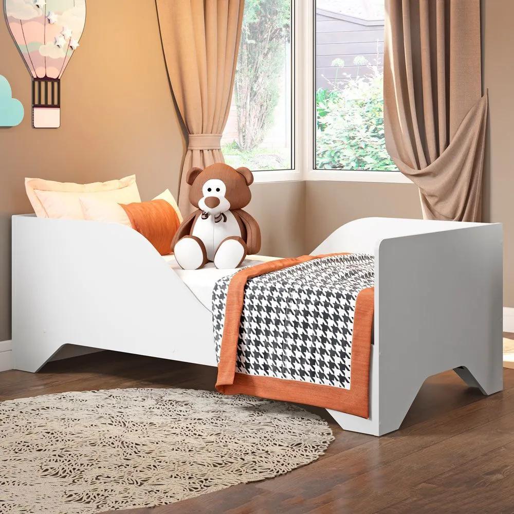 Mini-cama Soninho Flex 2668.156 Branco - Multimóveis