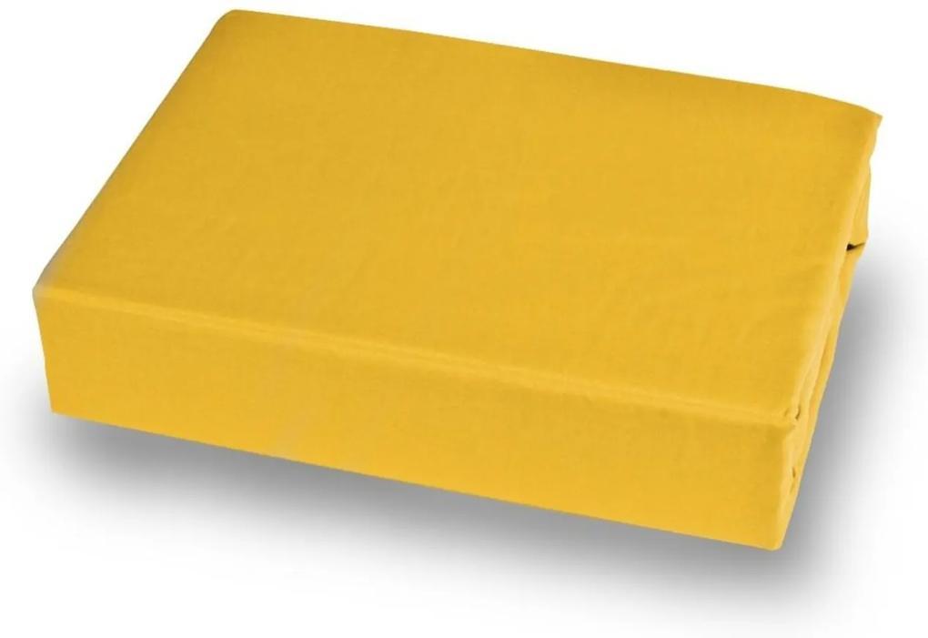 Lençol Avulso King 180 Fios Plaza Amarelo