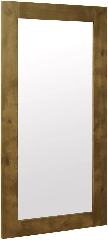 Espelho Retangular Decorativo com Moldura 200x100 Fiore Oregon - Gran Belo