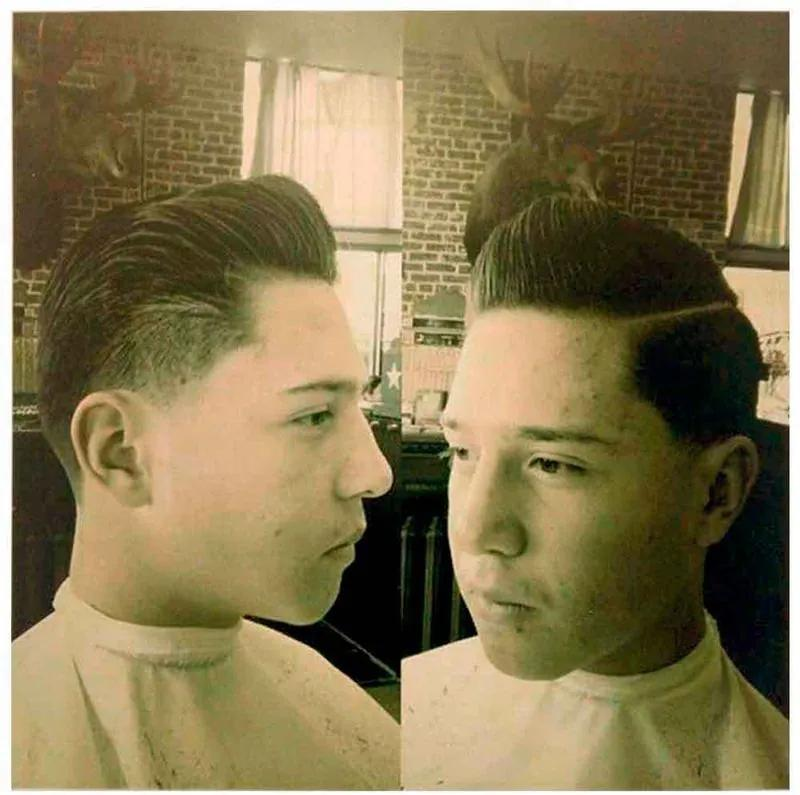 Placa Decorativa Para Barbearias Hair Style Estilo Vintage 3