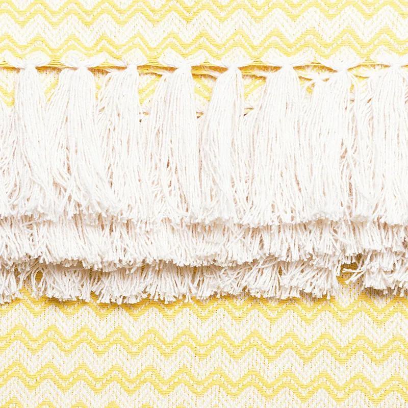 Manta para Sofá Campestre Missoni de 1,50 x 2,00 m Amarela