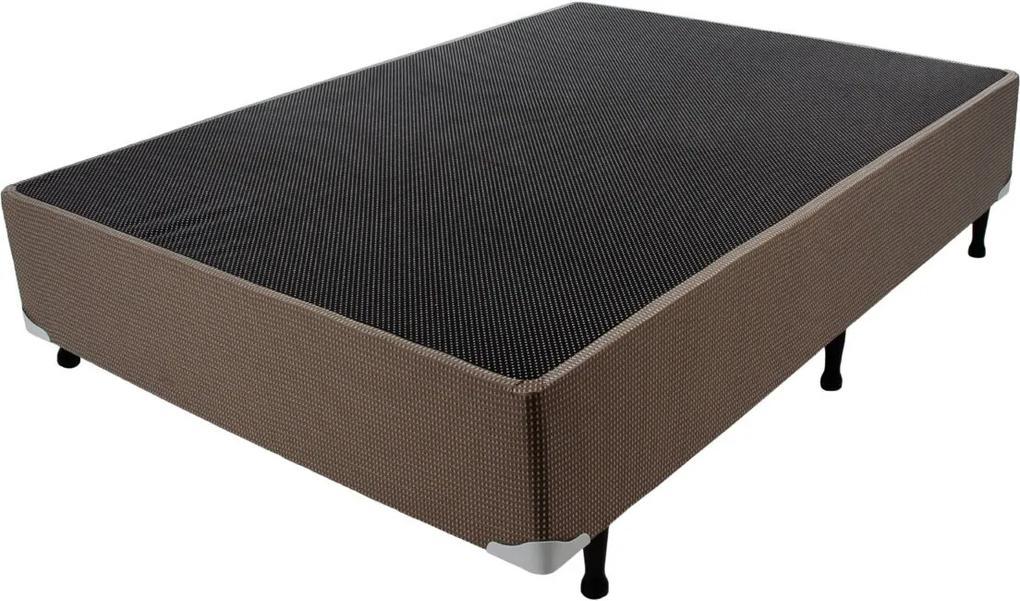 Box Marrom Quadriculado 138X188X24 Luckspuma