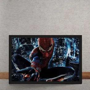 Quadro Decorativo Espetacular Homem Aranha Marvel 25x35