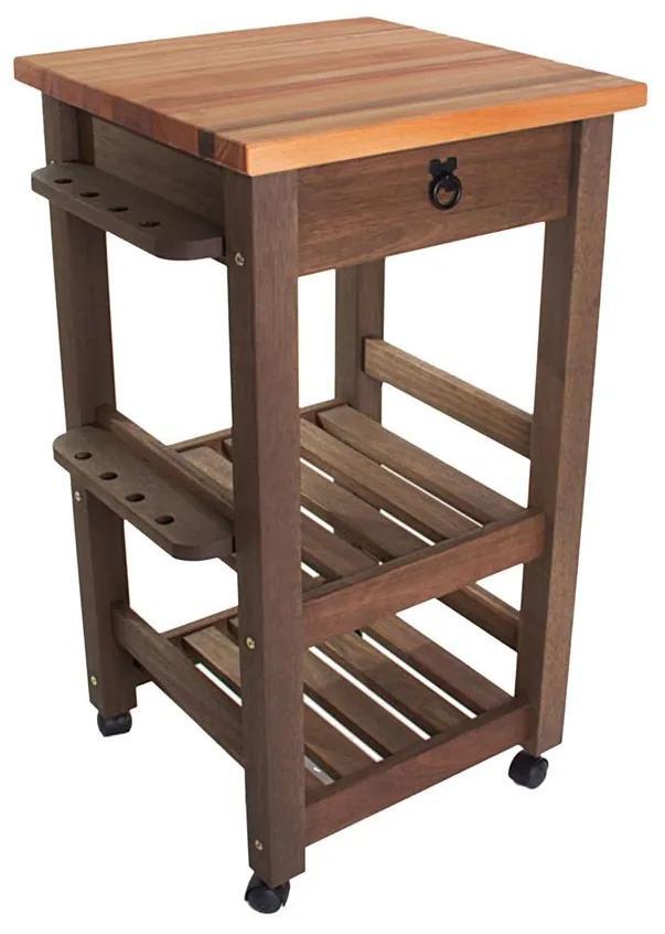 Carrinho Gourmet Menor - Wood Prime MR 218561