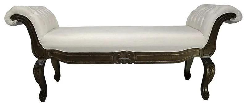 Recamier Luis Xv Capitonê - Wood Prime 14880