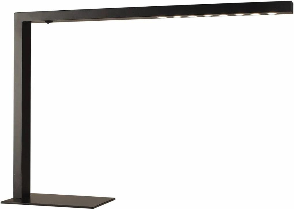 luminária de mesa METAL preto quente 39cm Bella SE398P