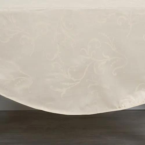 Toalha De Mesa Jacquard Hibisco 1,60M X 1,60M