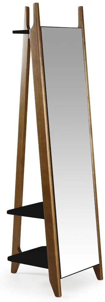 Espelho Stoka 169,5 cm 988 Nogal/Preto - Maxima
