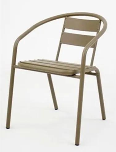 Cadeira Fun em Aluminio Capuccino - 58397 Sun House