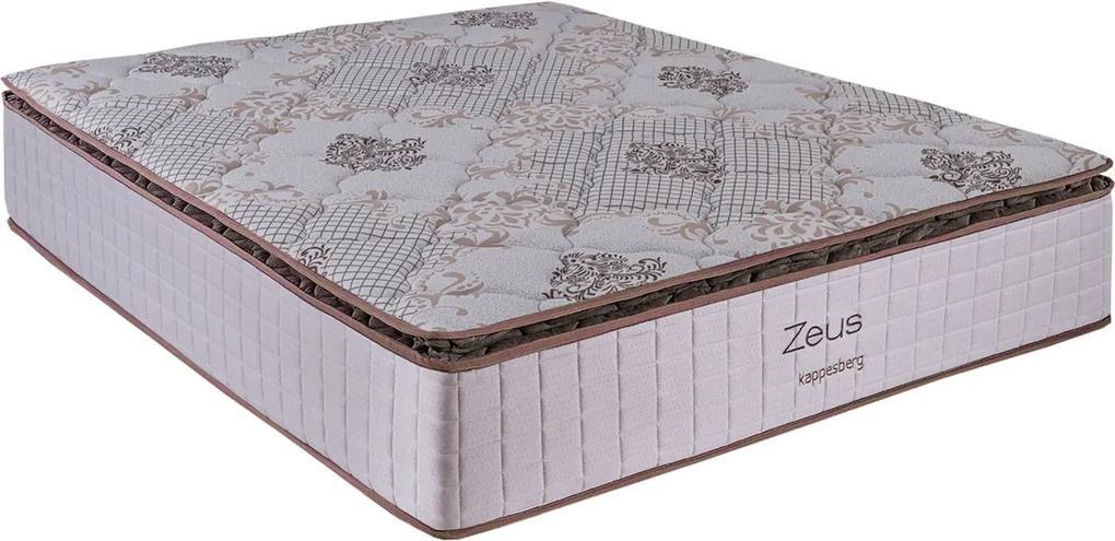 Colchão De Mola Ensacada Zeus 158X198X34 Bege Kappesberg