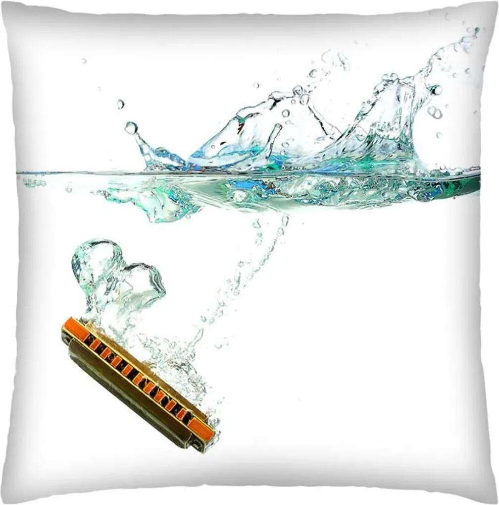 Almofada Colours Creative Photo Decor Gaita submarino Branco