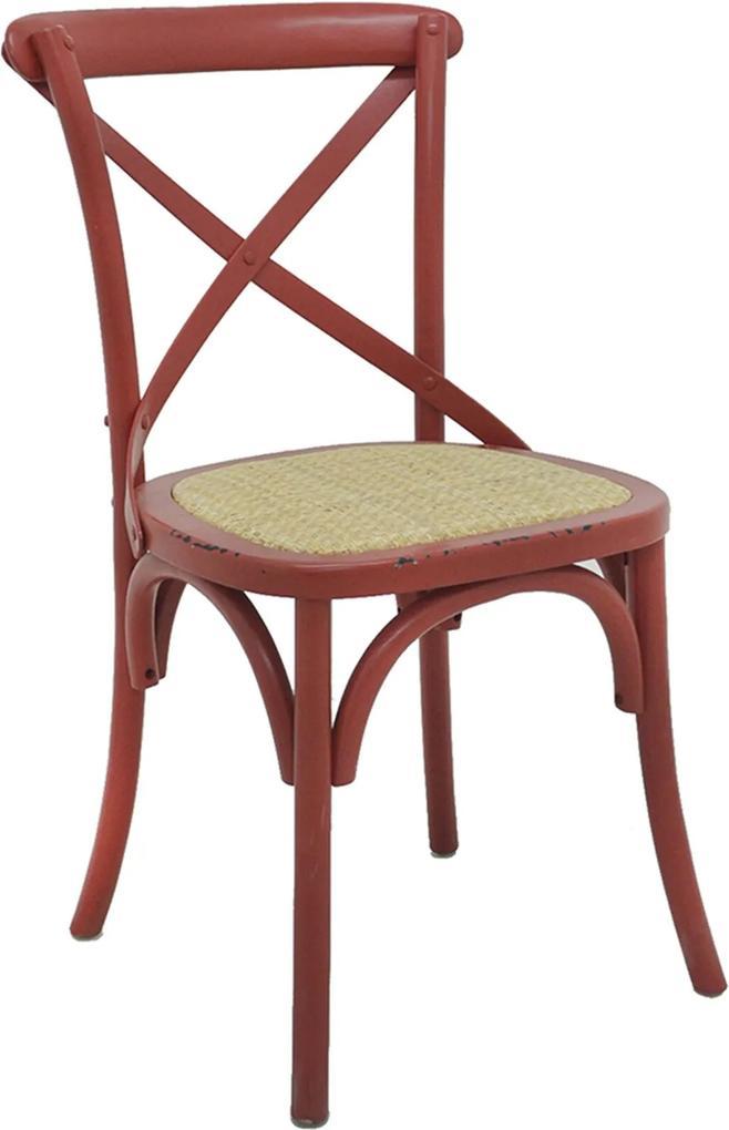 Cadeira Katrina Vermelha Rivatti