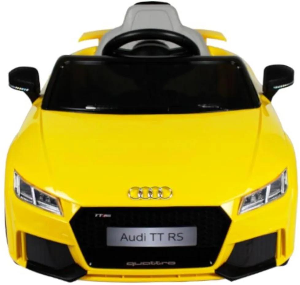 Carro Elétrico Audi TT RS 12V C/ Controle Bel Brink Amarelo