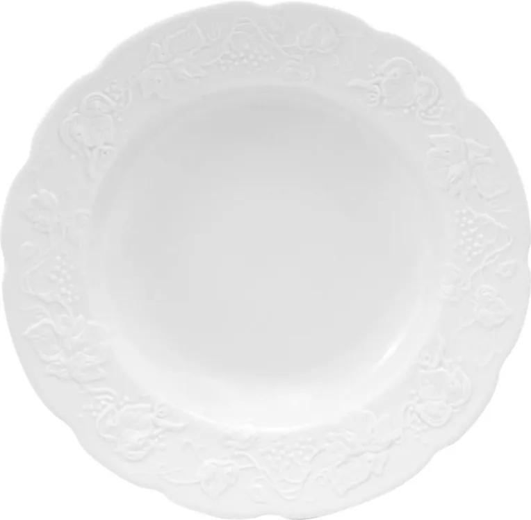 Jogo Pratos Fundos Porcelana Limoges Fosco Niza 6pcs 22cm 17288 Wolff