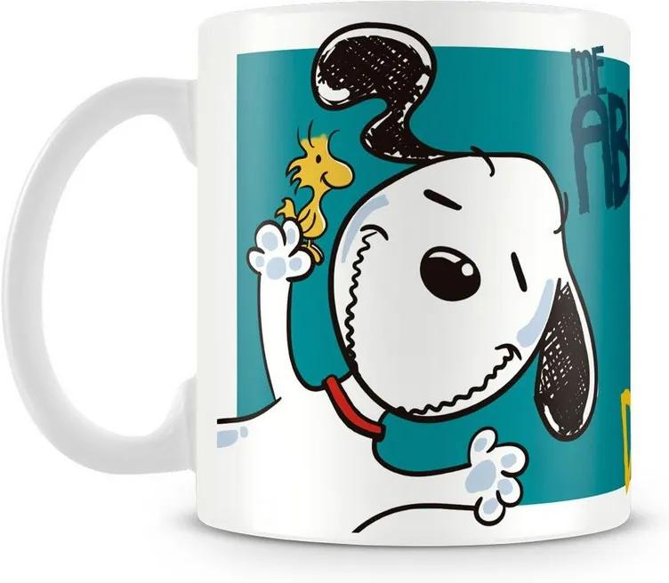 Caneca Personalizada Snoopy Meu Amor