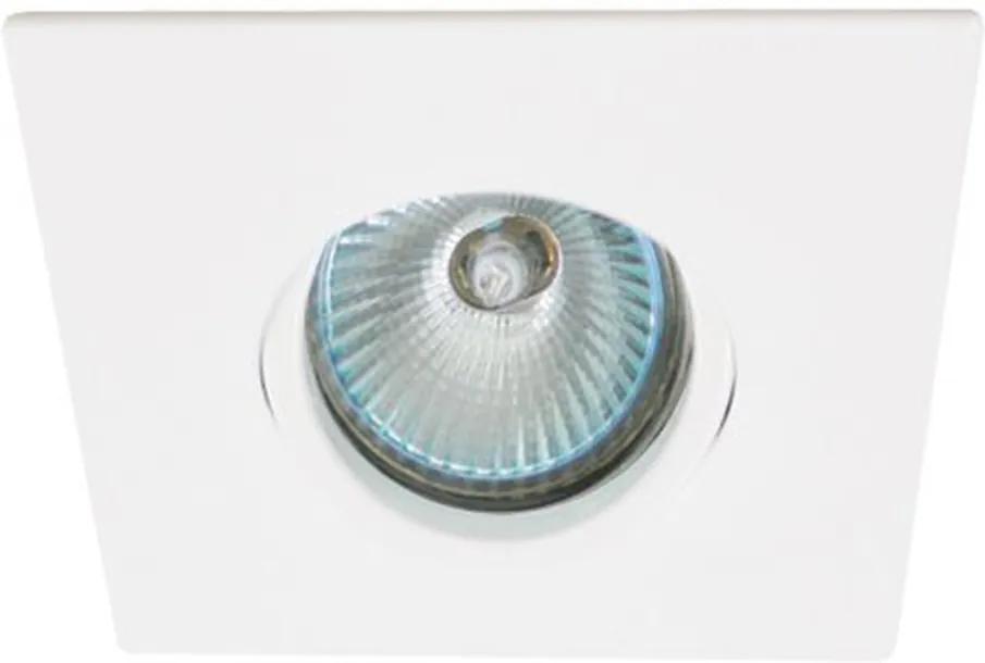 Embutido Quadrado Orientavel Face Plana para 1X Dicróica - Interlight - IL0074-GZ-BMTX