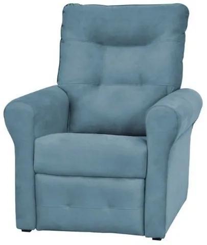 Poltrona do papai reclinável Clio -  Azul