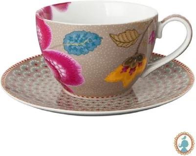 Xícara De Chá Cáqui - Floral Fantasy - Pip Studio