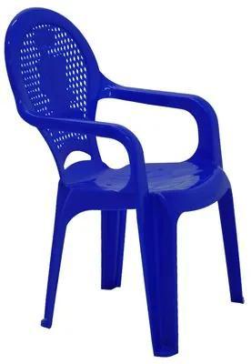 Cadeira Infantil Tramontina Catty Estampada em Polipropileno Azul