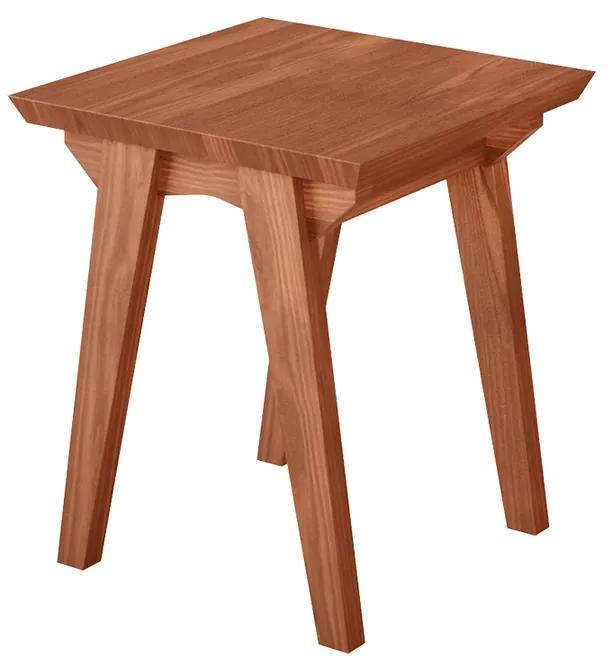 Mesa de Canto Ibiza Quadrada - Wood Prime LL 33040