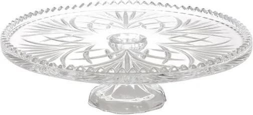 Prato para Bolo com Pé de Cristal Alberta 3806 Lyor