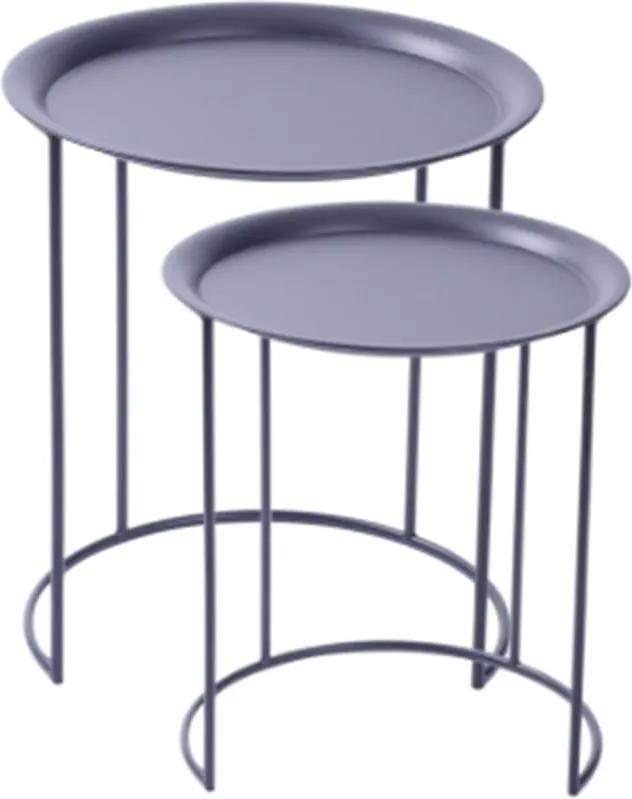 Mesa de Canto Circular Or Design