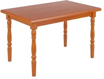 Mesa Para Sala de Jantar 125 cm Branco Mel - Piratini