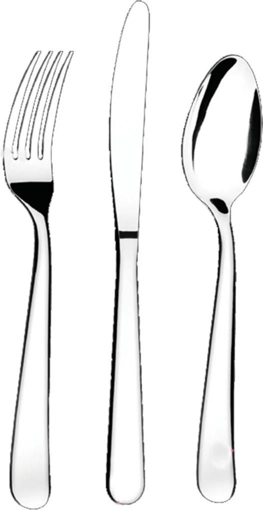 Faqueiro Brinox 48 peças Gourmet Prata