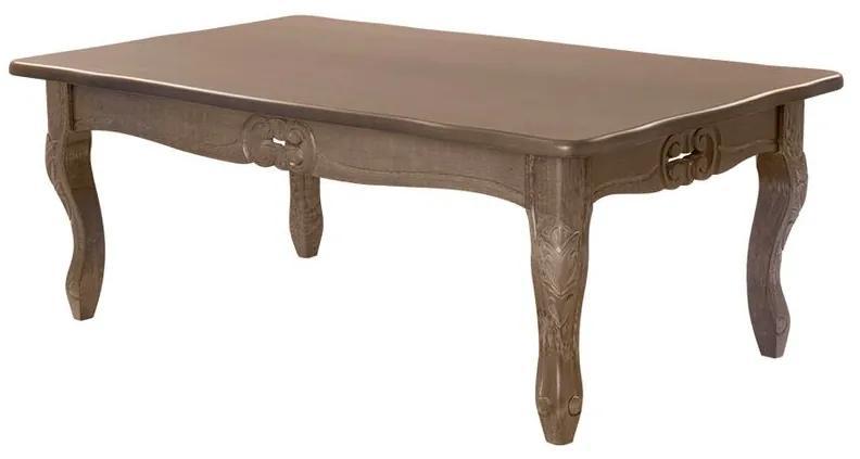 Mesa de Centro Luis Xv Capuccino Fosco - Wood Prime 41232