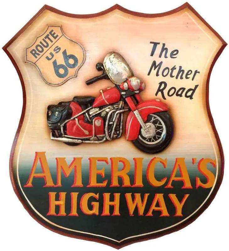 Quadro Rota 66 America's Highway