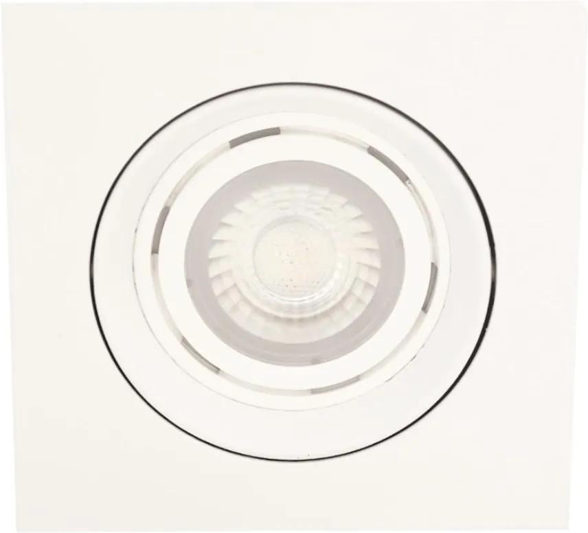 Plafon Embutir Aluminio Par30 E27 Branco