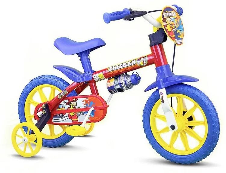 Bicicleta Aro 12 - Fire Man - Nathor