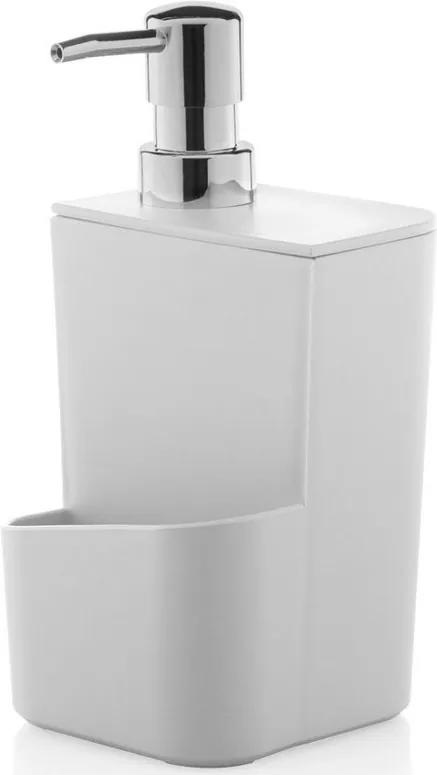 Dispenser de Detergente 650ml - Branco - Ou