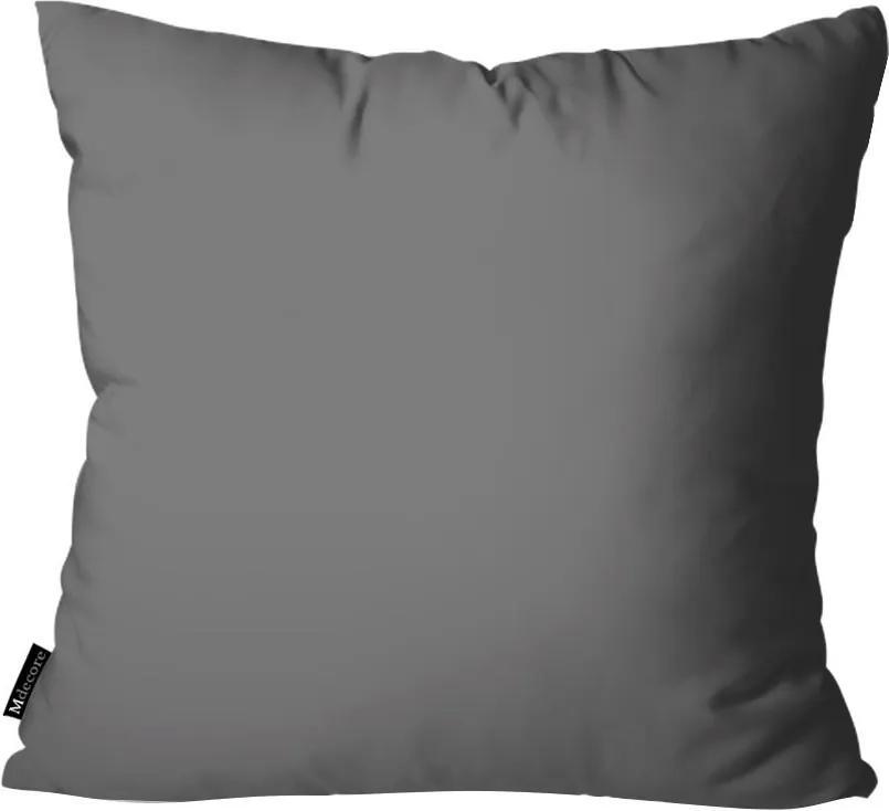 Capa para Almofada Mdecore Lisa Cinza45x45cm