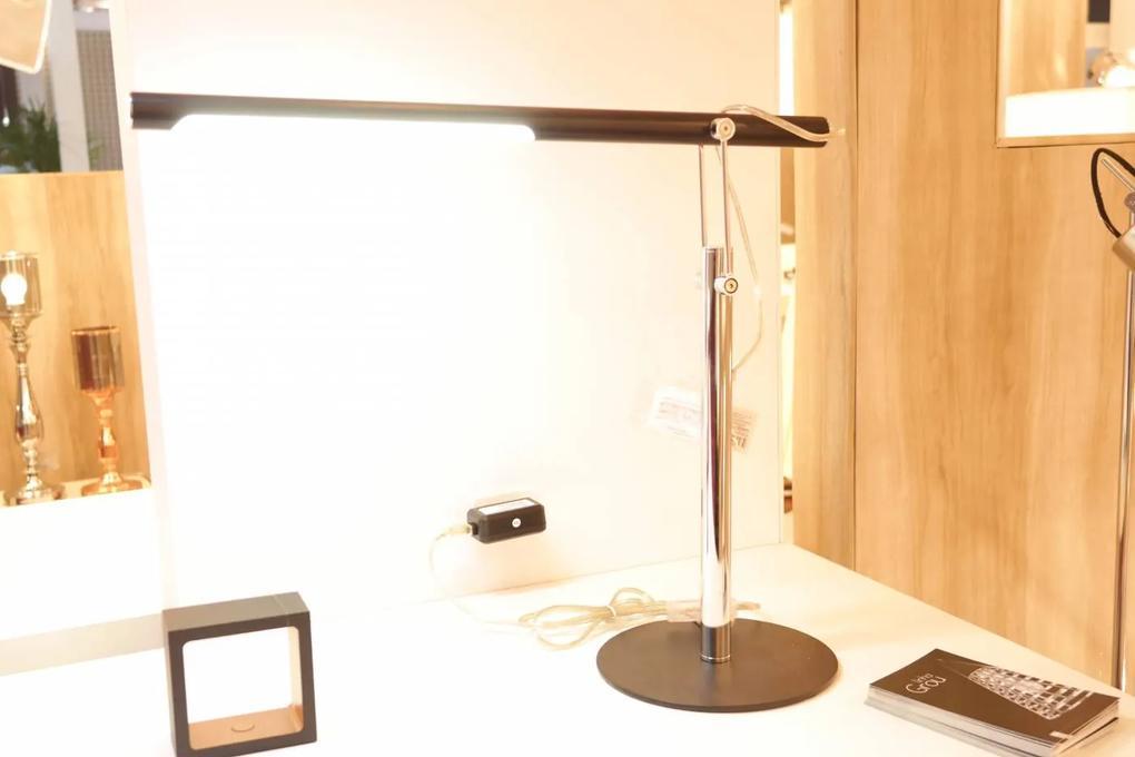 luminária de mesa ALUMÍNIO quente 46cm Bella LM005