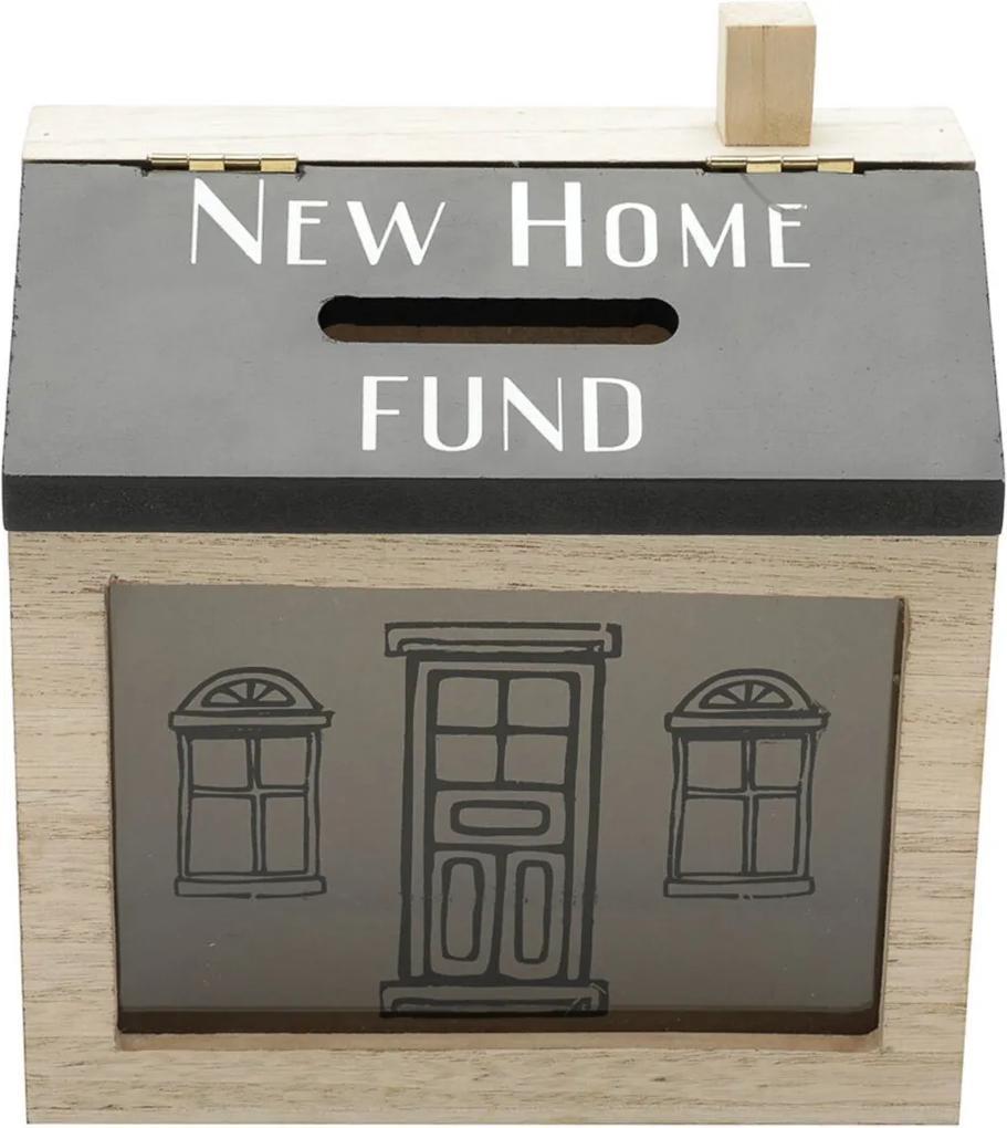 Cofre Madeira New Home Fund Bege 16X8X18Cm Urban