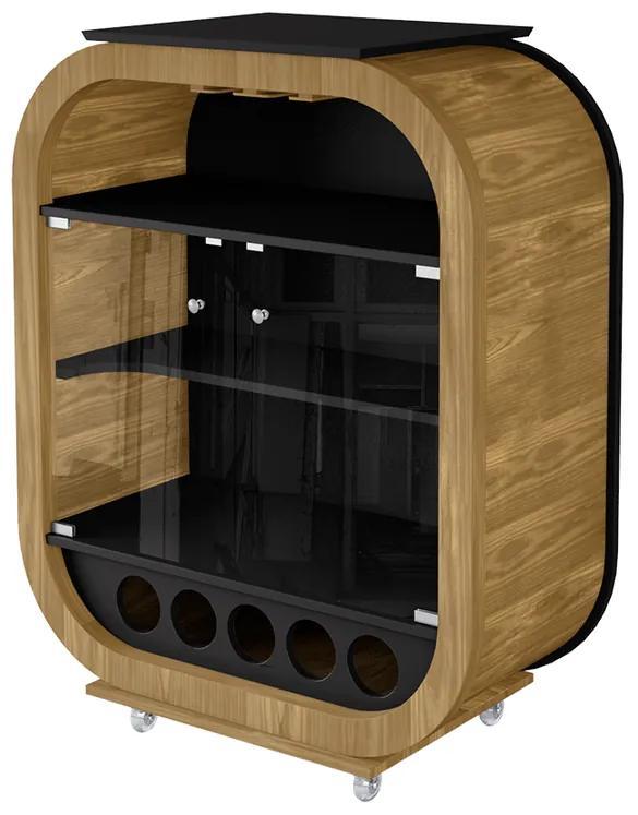 Cristaleira Decor Mini Vidro 6 mm - Wood Prime LL 33035