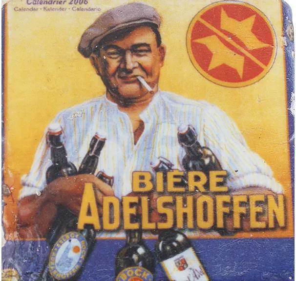 Porta Copos de Resina Biere Adelshoffen