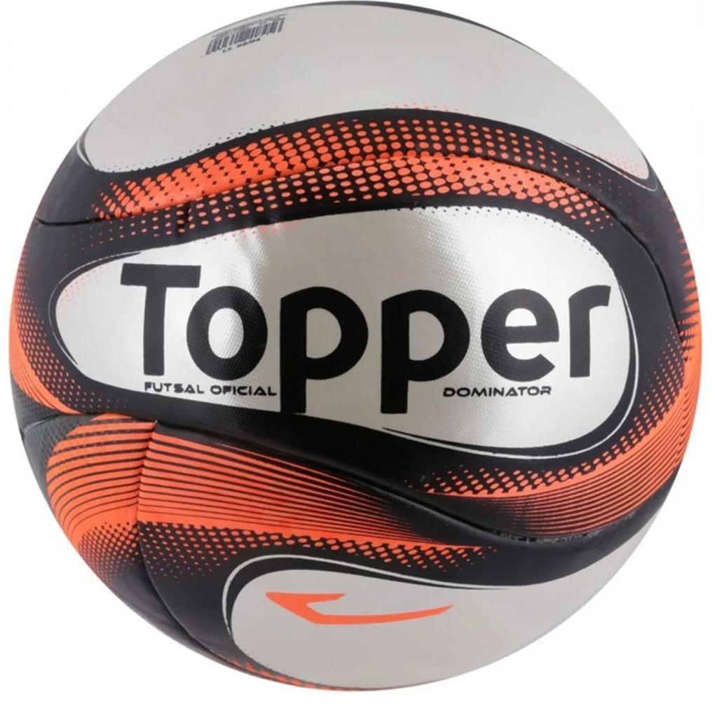 Bola Topper Futsal Dominator TD1 Laranja